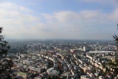 Vue de Salzbourg Image libre de droits