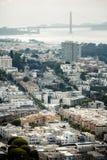 Vue de San Francisco, Etats-Unis image stock