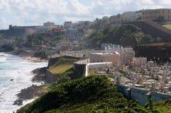Vue de San Juan Photographie stock