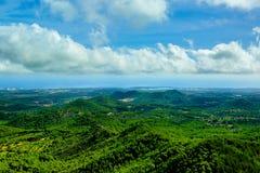 Vue de San Salvador, Majorque Image stock