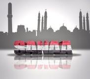 Vue de Sanaa Photographie stock