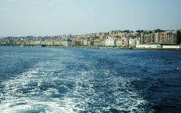 Vue de Santander Image libre de droits