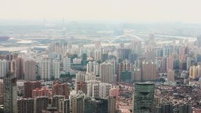 Vue de sc?ne urbaine ? Changha?, Changha?, Chine banque de vidéos