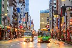 Vue de secteur d'Asakusa à Tokyo, Japon Images stock