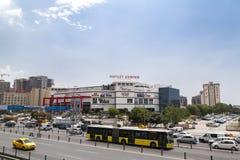 Vue de secteur de Yenibosna d'Istanbul Image libre de droits