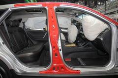 Vue de section de voiture Photo stock