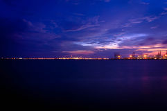 Vue de Singapour Photo stock