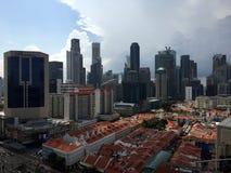 Vue de Singapour images libres de droits