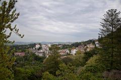 Vue de Sintra, Portugal Images libres de droits