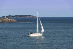 Vue de soirée d'été de l'archipel photographie stock libre de droits