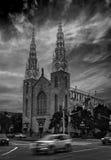 Vue de soirée d'Ottawa Photographie stock