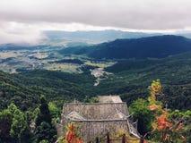 Vue de sommet de montagne Photographie stock libre de droits