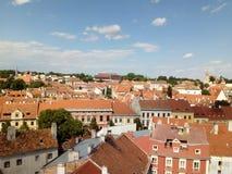 Vue de Sopron photo libre de droits