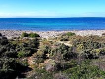 Vue de Spencer Gulf au point humblement Images stock