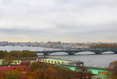 Vue de St Petersburg Photographie stock libre de droits
