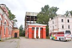 Vue de St Petersburg, dans le secteur de l'ancienne gare ferroviaire de Varsovie Photos libres de droits
