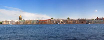 Vue de St Petersburg, Russie Photo stock