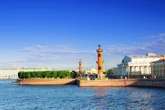 Vue de St Petersburg. sur le palais de l'hiver Image stock