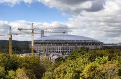 Vue de stade de Luzhniki Images libres de droits
