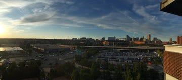 Vue de stade de Seahawks photographie stock libre de droits