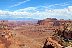 Vue de stationnement national de Canyonlands Photos libres de droits