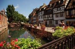 Vue de Strasbourg Images libres de droits