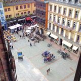 Vue de Strasbourg Images stock