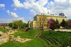 Vue de suaqre de Silistra, Bulgarie Image libre de droits
