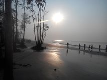 Vue de Sundorban, Khulnâ, Bangladesh photographie stock