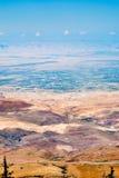 Vue de support Nebo en Jordanie photos libres de droits