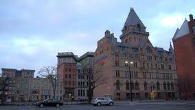 Vue de Syracuse, New York banque de vidéos