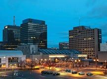 Vue de Syracuse, New York Images libres de droits
