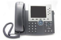 Vue de téléphone d'IP de l'avant Images libres de droits
