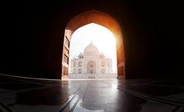 Vue de Taj Mahal photos stock