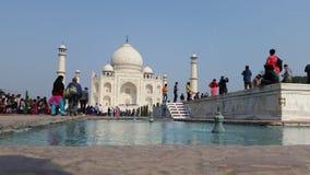 Vue de Taj Mahal Image libre de droits