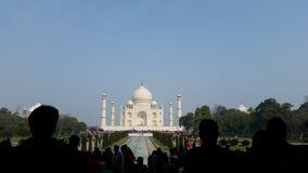 Vue de Taj Mahal Photos libres de droits