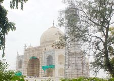 Vue de Taj Mahal, Agra, Inde photographie stock