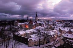 Vue de Tallinn Image libre de droits