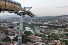 Vue de Tbilisi Photo stock