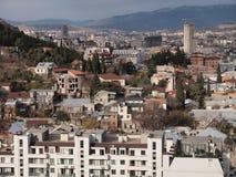 Vue de Tbilisi (la Géorgie) Photographie stock