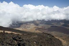 Vue de Teide maximal Photo libre de droits