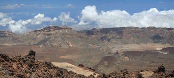 Vue de Teide maximal Image libre de droits
