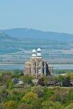 Vue de temple de Logan Image libre de droits
