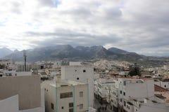 Vue de Tetouan, ville au Maroc/en Afrique du Nord Photos stock