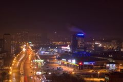 Vue de toit Ekaterinburg photo stock