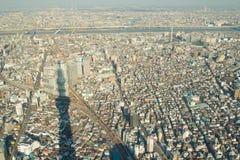 Vue de Tokyo de skytree de Tokyo à Tokyo Japon image stock