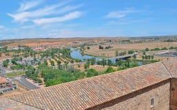 Vue de Toledo images stock