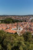 Vue de Tomar, Portugal Photo stock