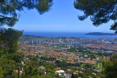 Vue de Toulon Images libres de droits