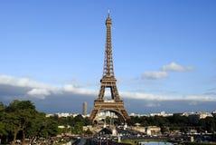 Vue de tour d'Eiffel de Tracadero Photo libre de droits